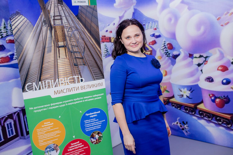 Руководитель проектов DuPont Pioneer Украина Наталья Литостанская