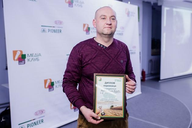 Главный агроном фермерского хозяйства «Флоря» Дмитрий Вареник