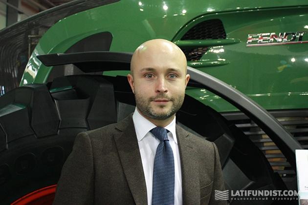Алексей Копылов, менеджер по развитию бизнеса Корпорации AGCO (отвечает за оптовые продажи тракторов Fendt в Украине