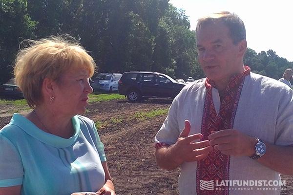 Надежда Вайло и Мишель Терещенко