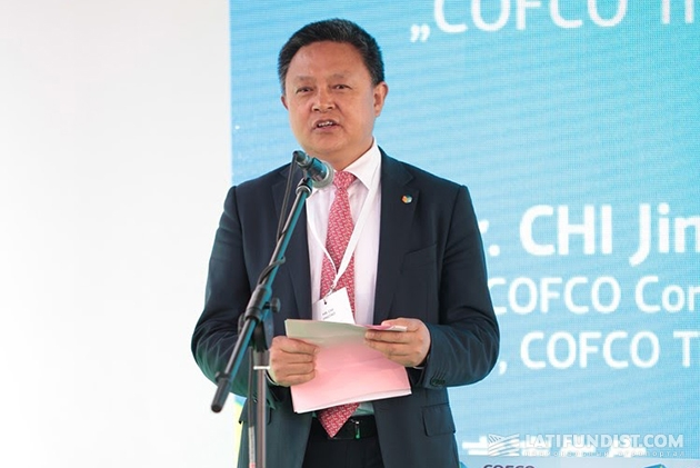 Вице-президент китайской госкорпорации COFCO Чи Цзинтао
