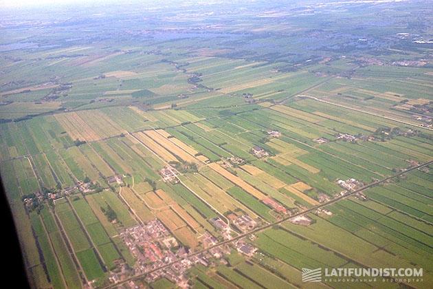 Голландия с высоты птичьего полета