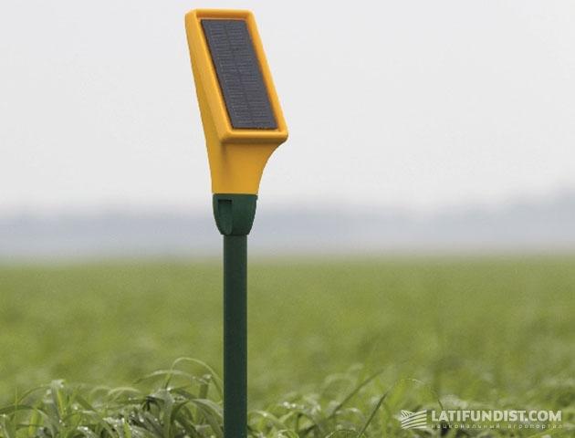 Датчики определения увлажнения почвы с on-line и инфракрасным способами передачи данных