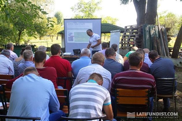 Директор по работе с ключевыми клиентами «Щелково Агрохим Украина» Павел Бондаренко