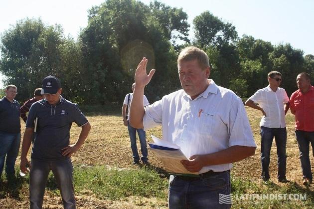 Агроном «Интерагро Сквиры» Василий Левицкий