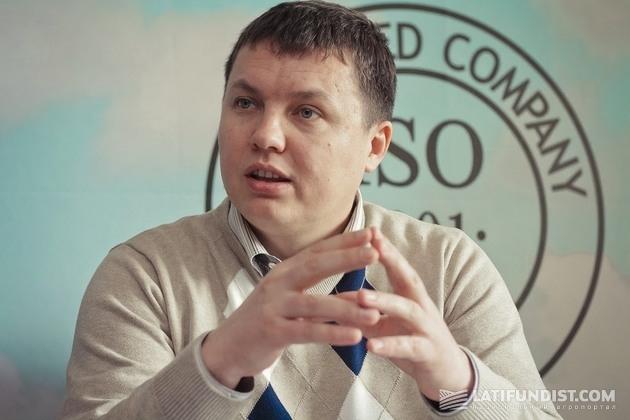 Владимир Кузло, комерческий директор «Захід Агробізнес»