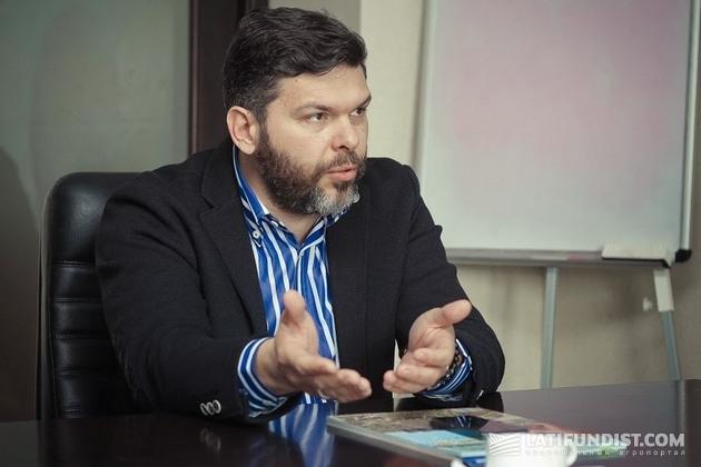 Александр Дрешпак, директор «Щелково Агрохим Украина, CHEMISCHE GUTER AG»