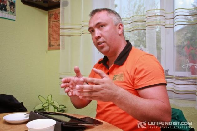 Павел Бондаренко, директор по работе с ключевыми клиентами «Щелково Агрохим Украина»