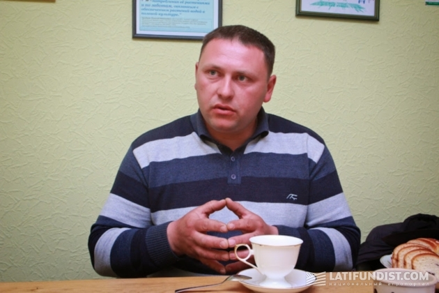 Виталий Теличко, агроном хозяйства «Интерагро Сквира»