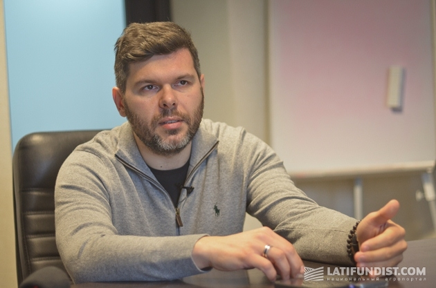 Александр Дрешпак, директор ООО ««Щелково Агрохим Украина, CHEMISCHE GUTER AG»
