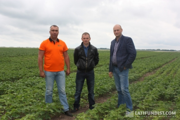 Павел Бондаренко, Александр Сивогорло и Василий Цвык (слева направо)