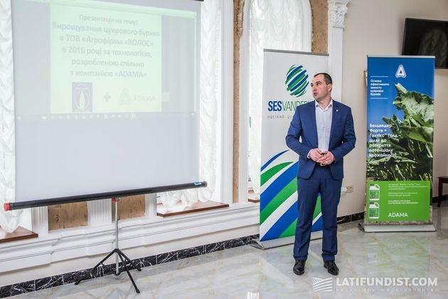 Александр Паламарчук, главный агроном АФ «Колос»