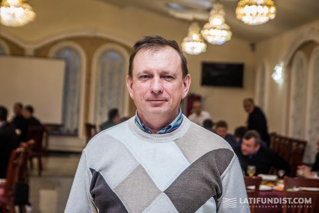 Анатолий Мельник, агроном Шамраевского сахарного завода
