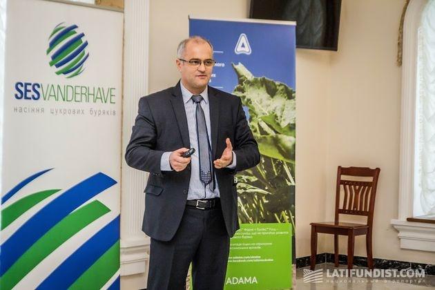 Андрей Ищук, директор центрального региона «АДАМА Украина»