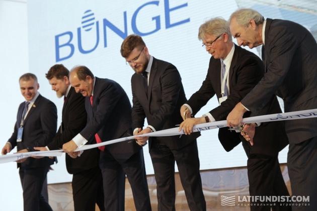 Открытие производственно-перегрузочного комплекса «Бунге Украина» в Николаеве