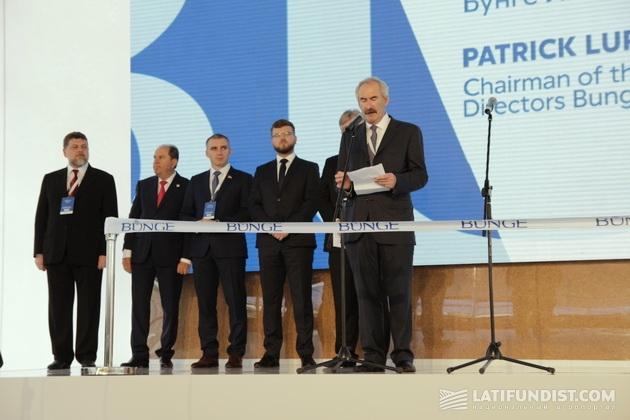 Глава Совета директоров «Бунге» Патрик Лупо