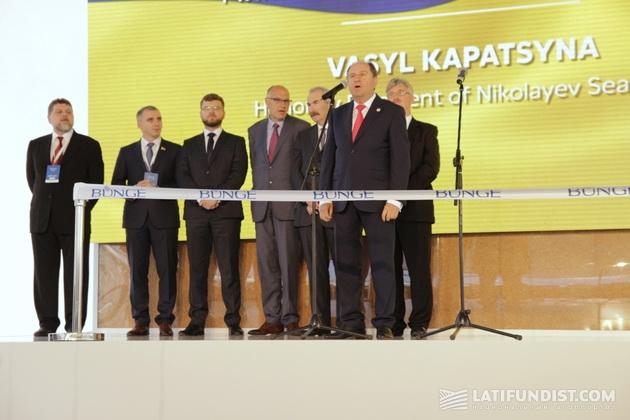 Почетный президент Николаевского МТП Василий Капацина
