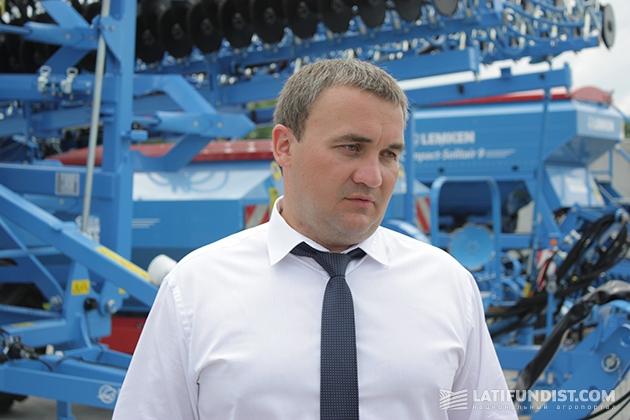 Генеральный директор компании «Агротехсоюз» Иван Дергалюк