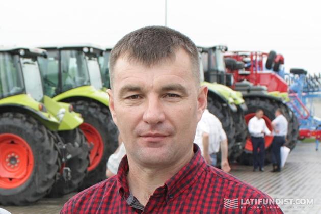 Председатель фермерского хозяйства «Гиренко С О» Сергей Гиренко