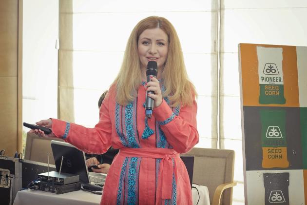 Финансовый директор DuPont Pioneer в Украине Елена Дунина