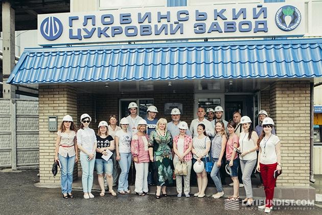 Экскурсия по «Глобинскому сахарному заводу»