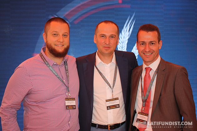 Andrew Stavnitser (L), Aleksey Pavlenko, Klaus Holzinger