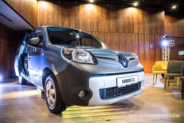 Электромобиль Renault Kangoo Z.E.