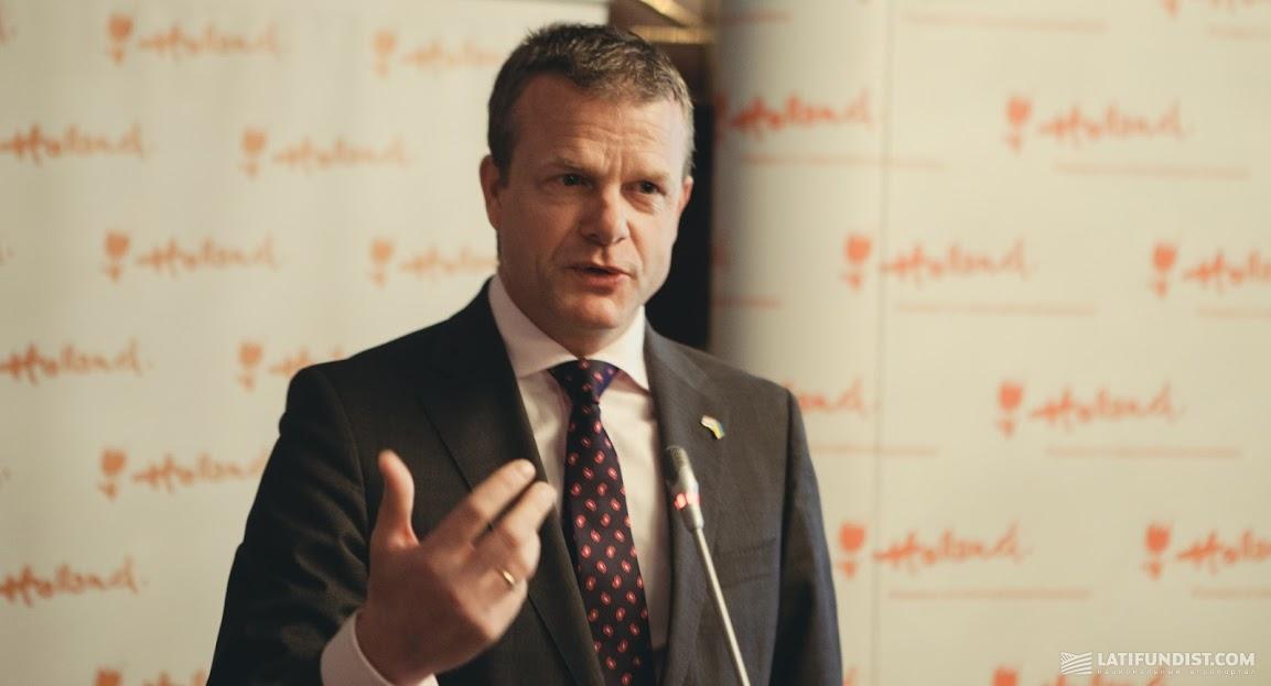 Министр иностранных дел Нидерландов Гидо Ландир (Guido Landheer)