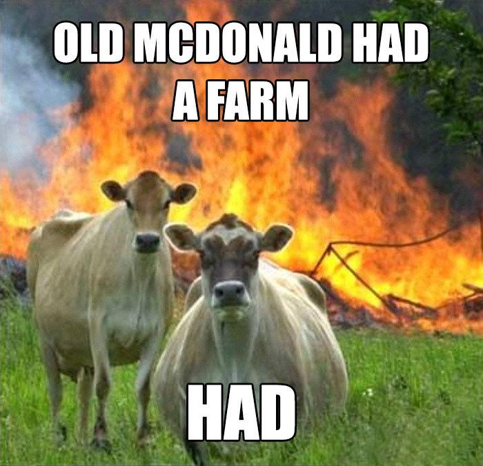 У старика МакДональда была ферма. Была