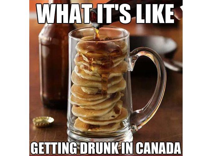 Как выглядит пьянка в Канаде
