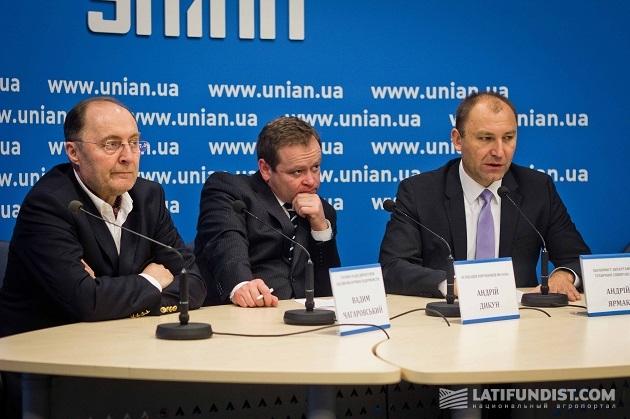 Вадим Чагаровский, Андрей Дыкун, Андрей Ярмак