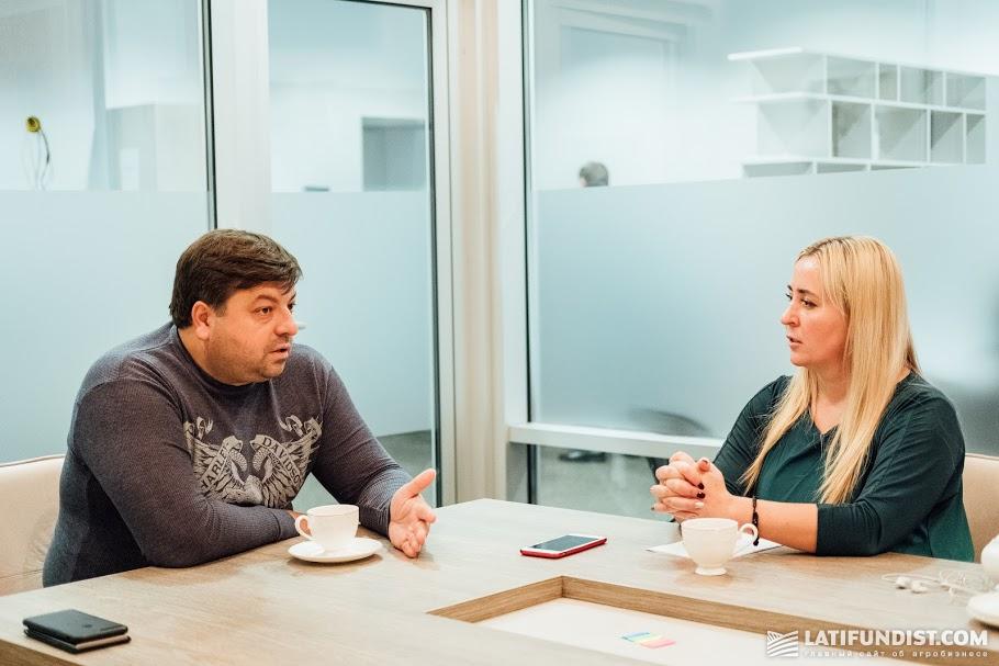 Иван Мирошниченко на интервью