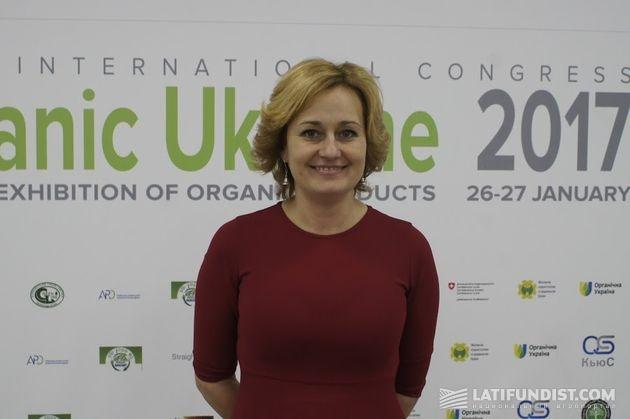 Елена Березовская, глава правления ассоциации «Органическая Украина»
