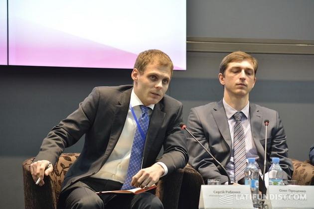 Сергей Рабенко, Международная финансовая корпорация (слева)