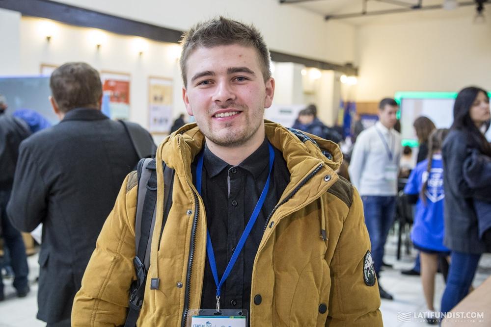 Дмитрий Кривой разработчик проекта Plantator Plus