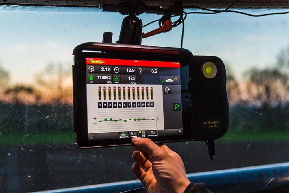 Система Väderstad E-Control на базе iPad