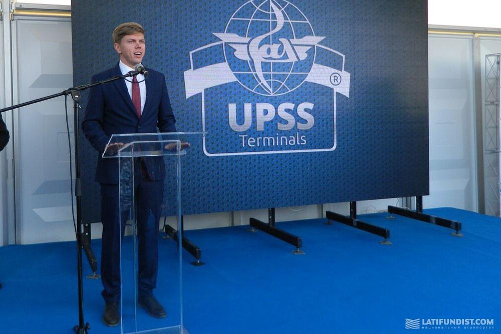 Дмитрий Фалько, исполнительный директор фирмы «Терминал-УСПП»