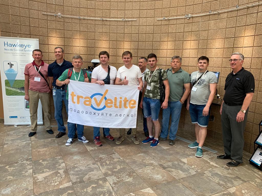 Участники агротура, организованного компанией Travelite