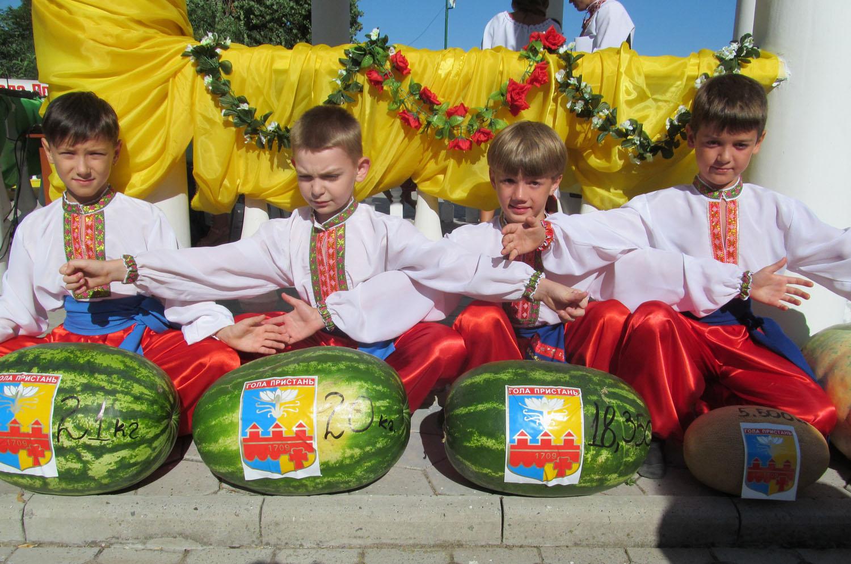 Украинский арбуз — сладкое чудо