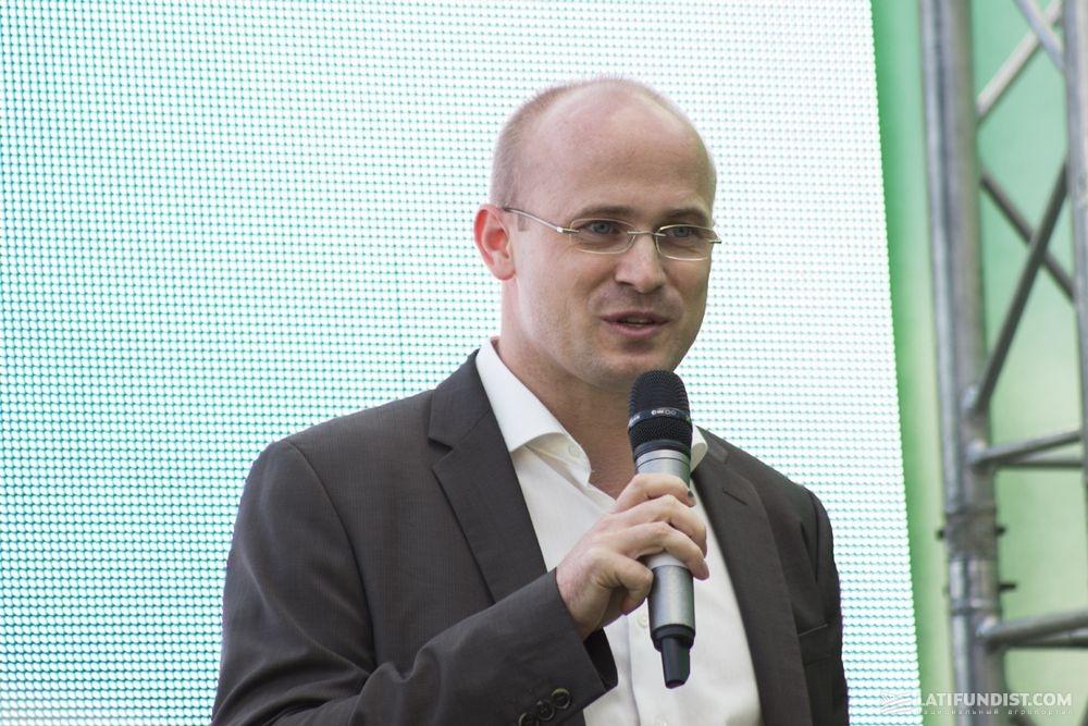 Питер Заксе, генеральный директор компании John Deere Украина