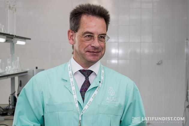 Мортен Педерсен, руководитель лаборатории, ведущий специалист из Дании
