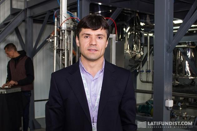 Роман Шпаченко, директор завода