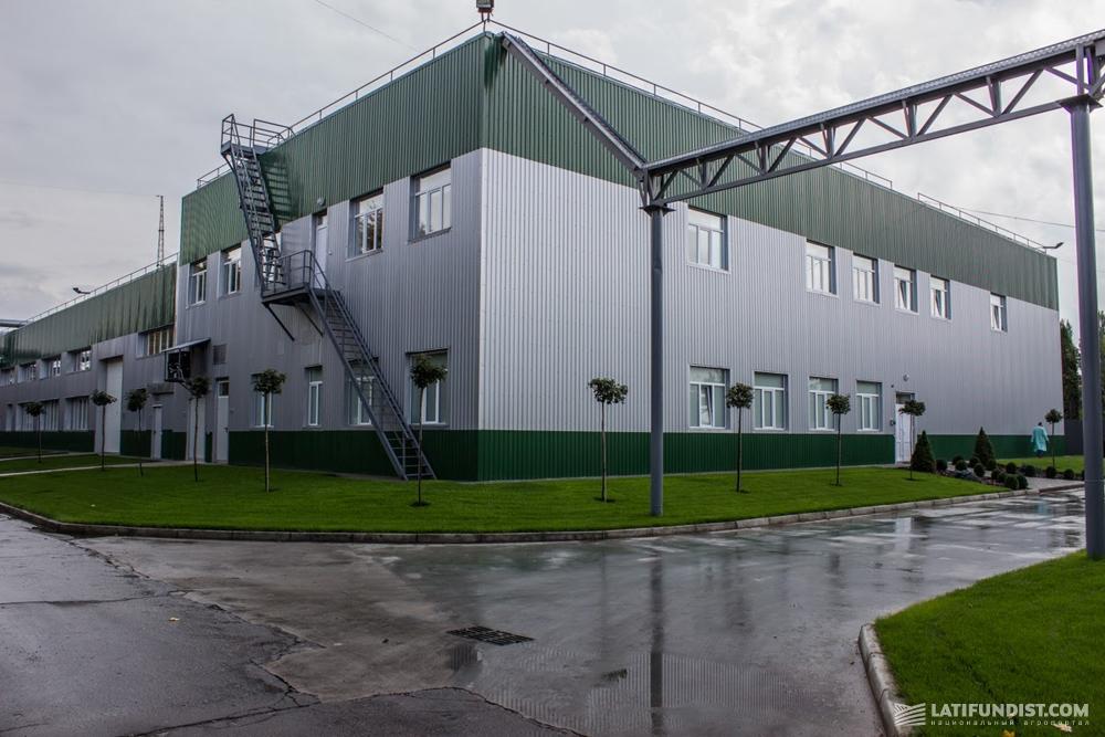 Завод по производству микроудобрений и средств защиты растений компании ALFA Smart Agro