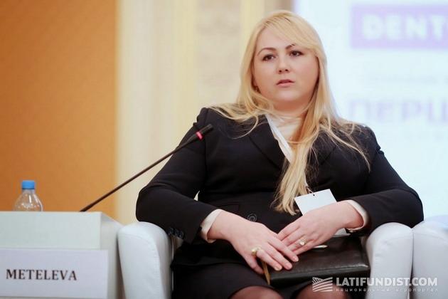 Инна Метелева заместитель председателя правления «Сварог Вест Груп»