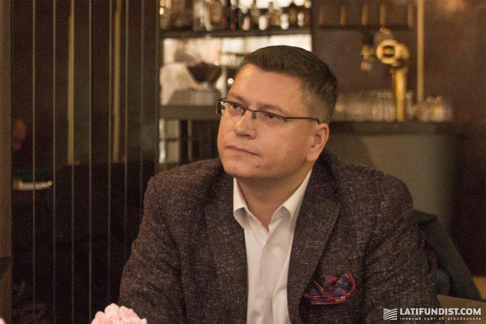 Александр Руденко, генеральный менеджер Farmers Edge в Украине