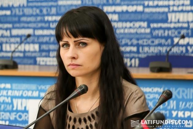 Наталия Чернюк, заместитель директора Департамента экономического развития Министерства аграрной политики и продовольствия Украины