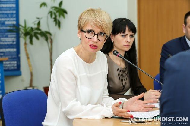 Наталия Головань, начальник отдела форвардных закупок ГПЗКУ