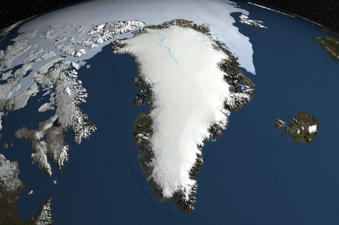 Лишь 15% площади острова свободно от материкового льда