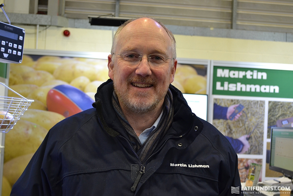 Гэвин Фишман, управляющий директор компании Martin Lishman Ltd.
