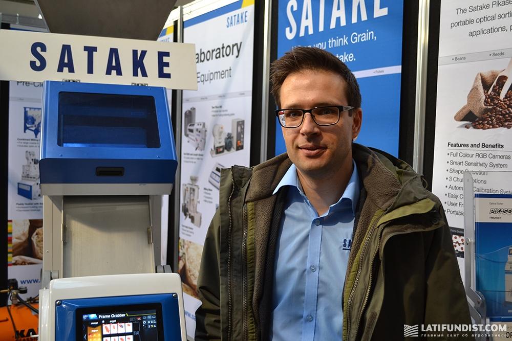 Никс Куржановикс, директор по экспорту Satake Europe Ltd.